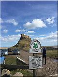 NU1341 : Lindisfarne Castle by thejackrustles