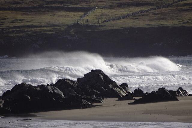 Incoming waves, Norwick
