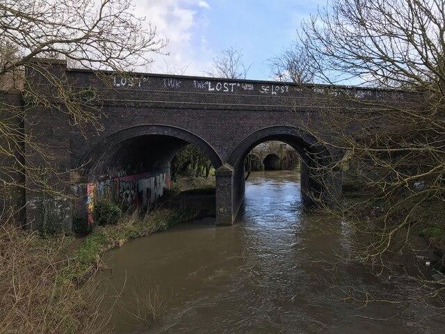 Railway bridge over the River Erewash