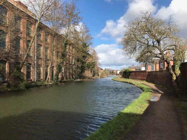 The Erewash Canal at Long Eaton
