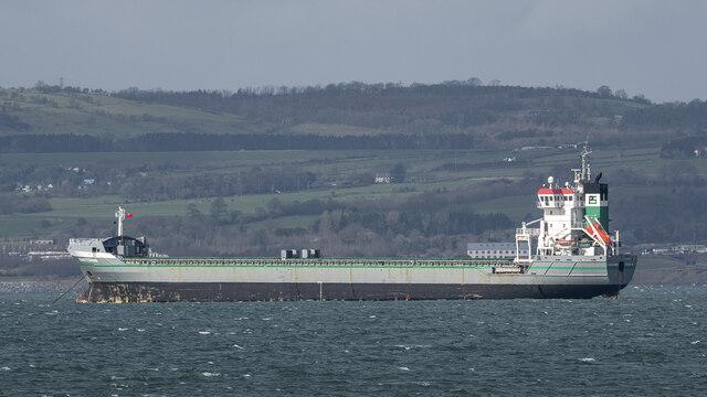 The 'Kwintebank' off Bangor