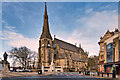 SD8010 : Bury Parish Church, Market Place by David Dixon