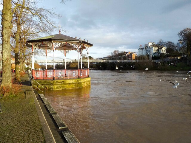 The Bandstand on The Groves, Chester