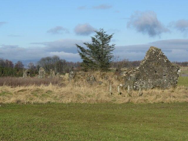 Greenside Ruin near Kingskettle