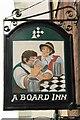 NY6820 : A Board Inn by Peter Jeffery