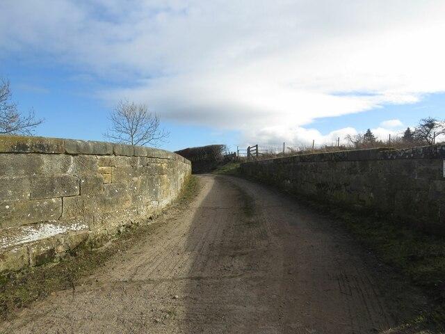 Forthar Mill Railway bridge