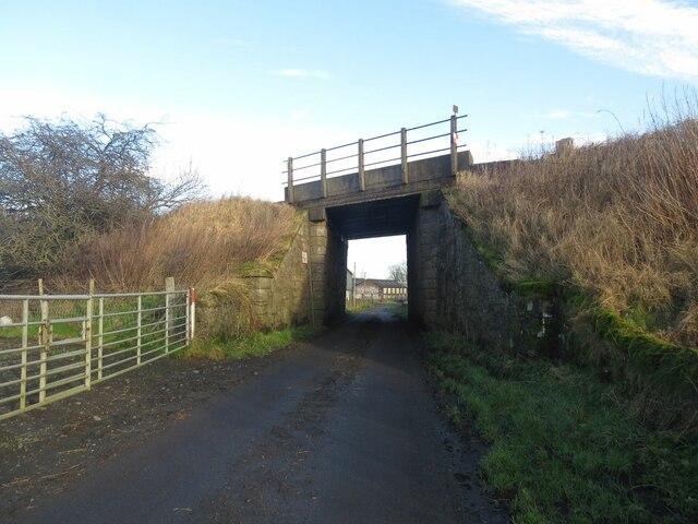Railway bridge near Ore Mills
