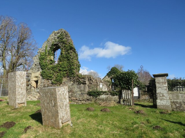 St Fillan's church ruin