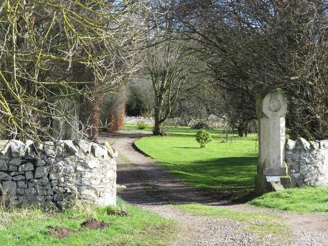Entrance to Kirkton House