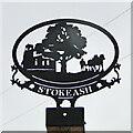 TM1170 : Stoke Ash village sign by Adrian S Pye