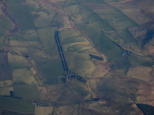 South Riccalton from the air