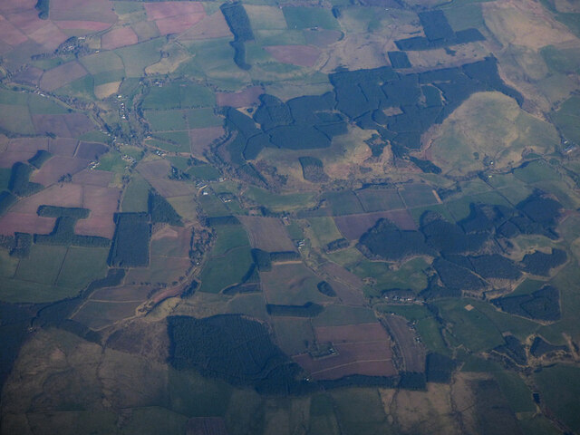 Ladfield Plantation from the air