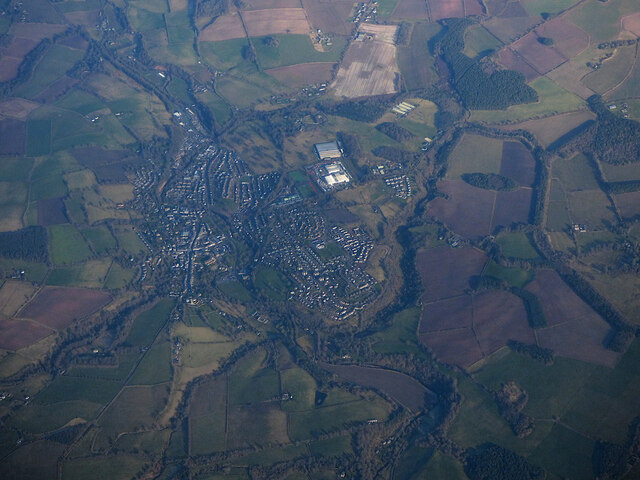 Jedburgh from the air