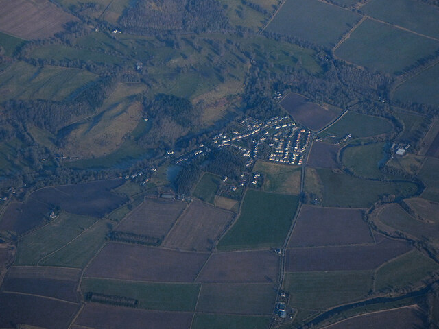 Ancrum from the air