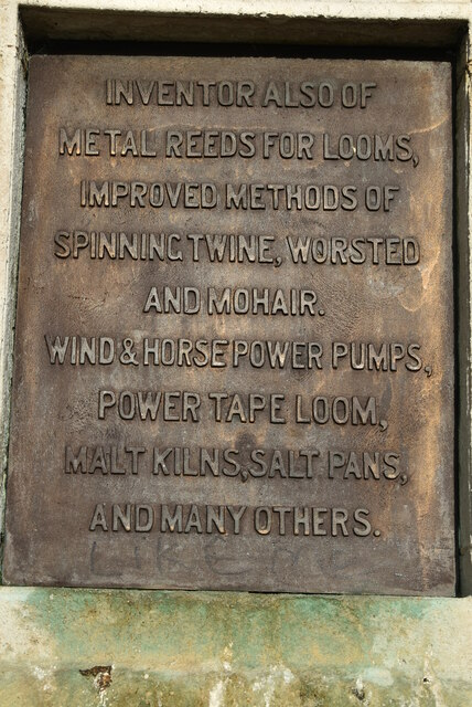 Plaque on Kay Monument