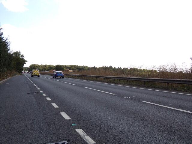 A14 at Blackthorpe