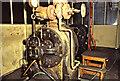 SK2083 : Bamford Mill - steam turbine by Chris Allen