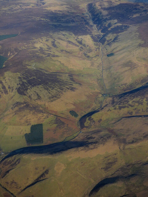 Glentress from the air