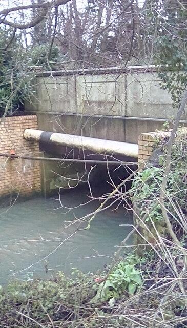 River Fromus at Saxmundham
