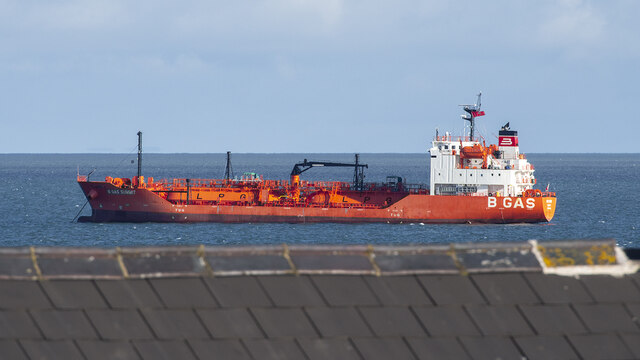 The 'B Gas Summit' off Bangor