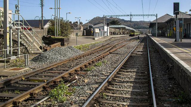 Railway tracks, Bray