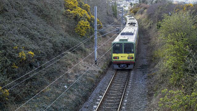DART train, Bray