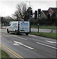 ST3091 : Allied Aerosystems white van, Malpas Road, Newport by Jaggery