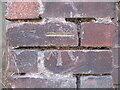SO7192 : Benchmark, New Road Wall, Bridgnorth by Adrian Taylor