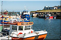 NU2232 : Seahouses Harbour by Stuart Wilding