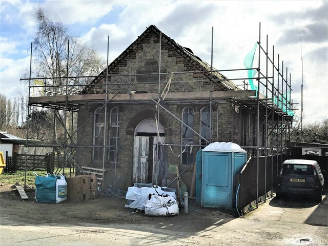 Renovation of former Primitive Methodists Chapel in Wisbech St Mary