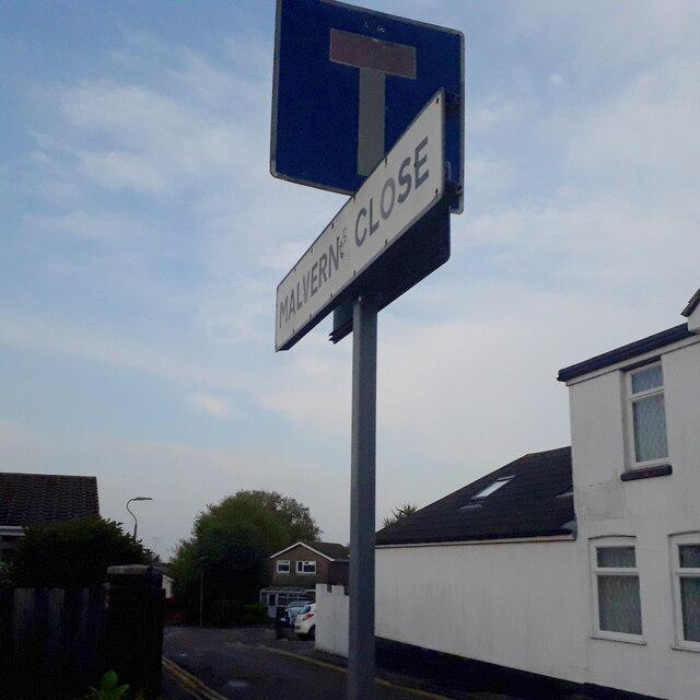 Moordown: Malvern Close
