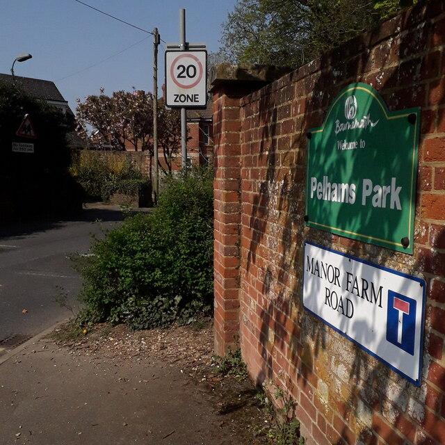 Kinson: Manor Farm Road