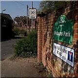 SZ0696 : Kinson: Manor Farm Road by Chris Downer