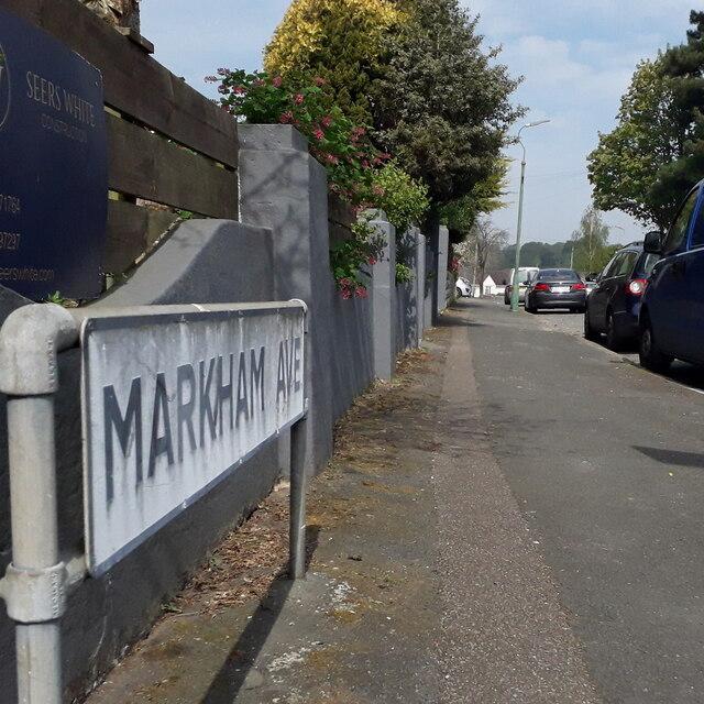 Kinson: Markham Avenue