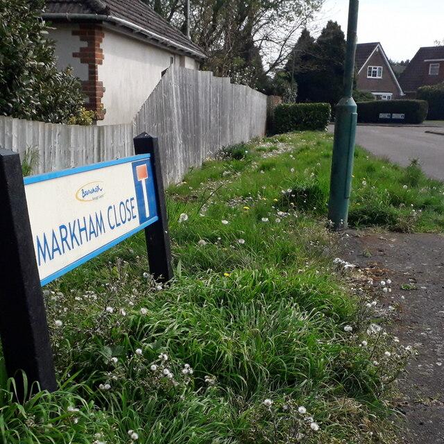 Kinson: Markham Close