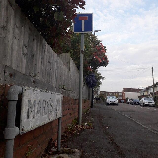Moordown: Marks Road