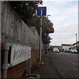 SZ0895 : Moordown: Marks Road by Chris Downer
