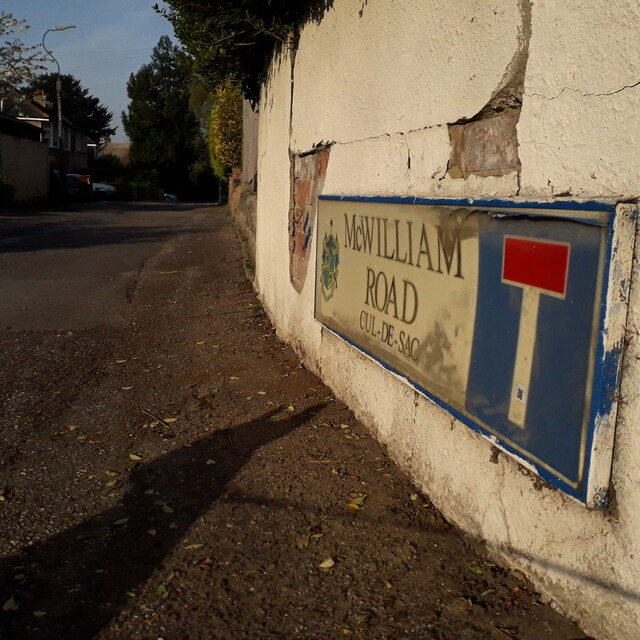 Moordown: McWilliam Road