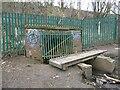 SE3122 : Footbridge over Snow Hill Beck by Christine Johnstone