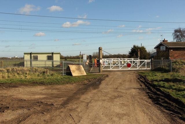 Grassthorpe Lane crossing