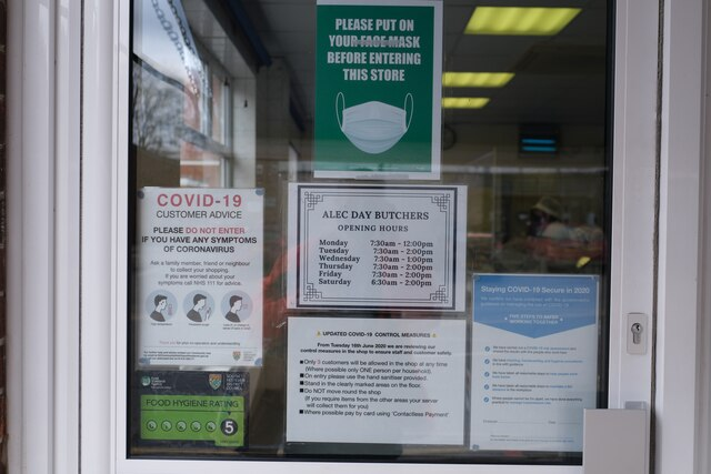 Shop notices