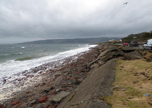 Storm at Wemyss Bay