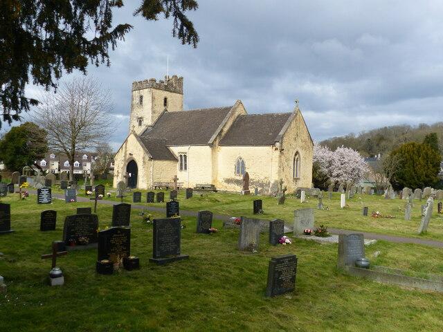 Portskewett church, with churchyard, Monmouthshire