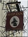 SX9372 : Ship Inn name sign, Teignmouth by Jaggery