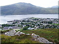 NH1394 : Overlooking Ullapool by Graham Hogg