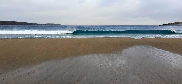 Wave, Norwick beach
