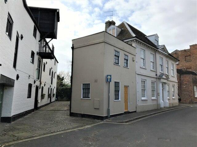 Houses on Nelson Street in King's Lynn
