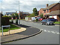 SO8552 : Junction of Foxglove Road and primrose Crescent, St Peter The Great by Chris Allen