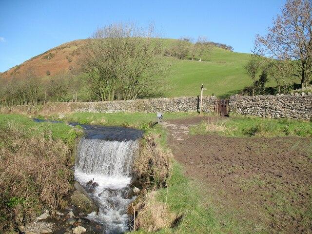 Weir near High Ure, Ulverston