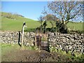 SD2879 : Kissing Gate near High Ure by Adrian Taylor